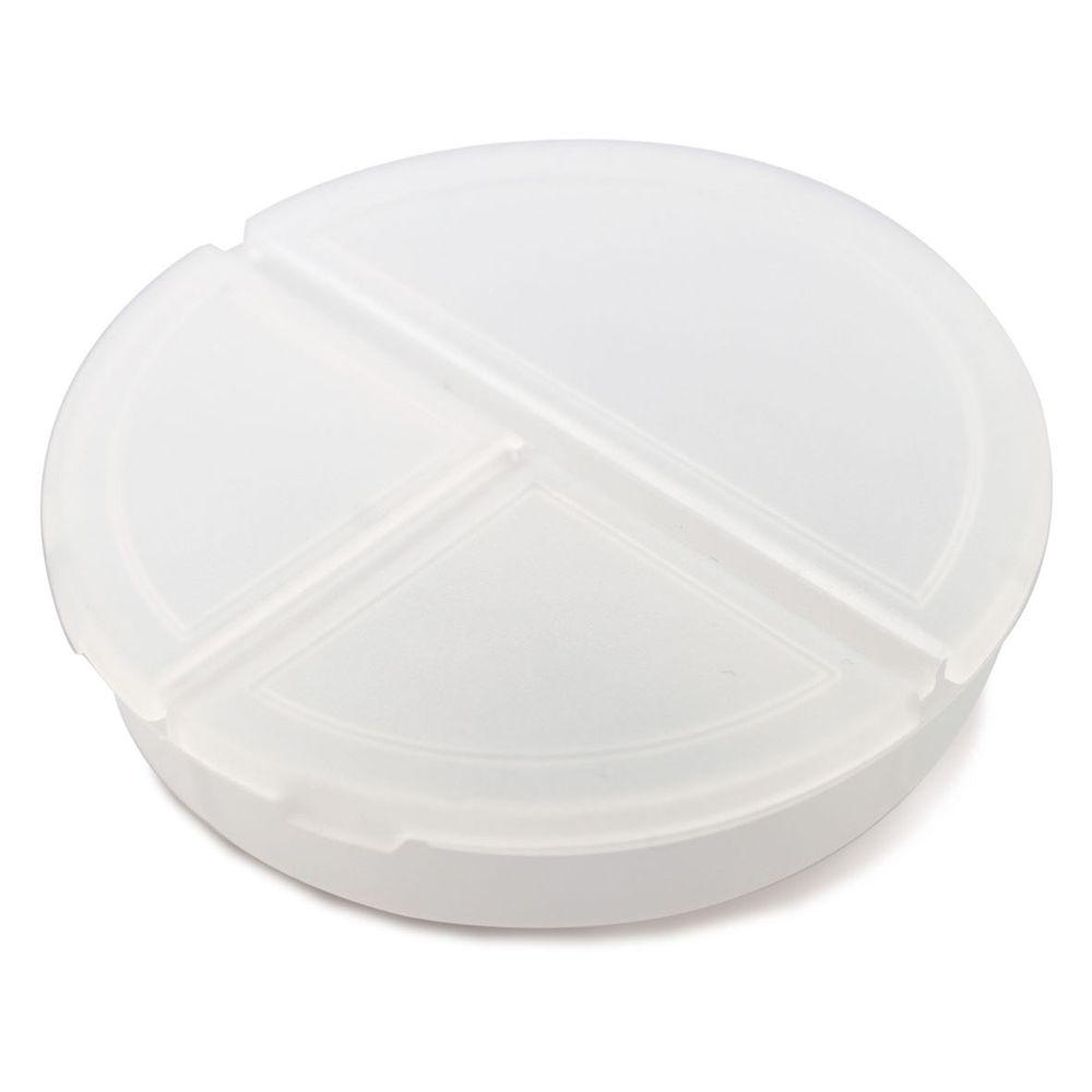 Kulatý pilulkovník bílý