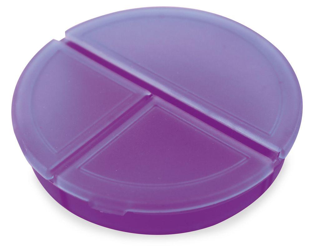 Kulatý pilulkovník fialový s potiskem