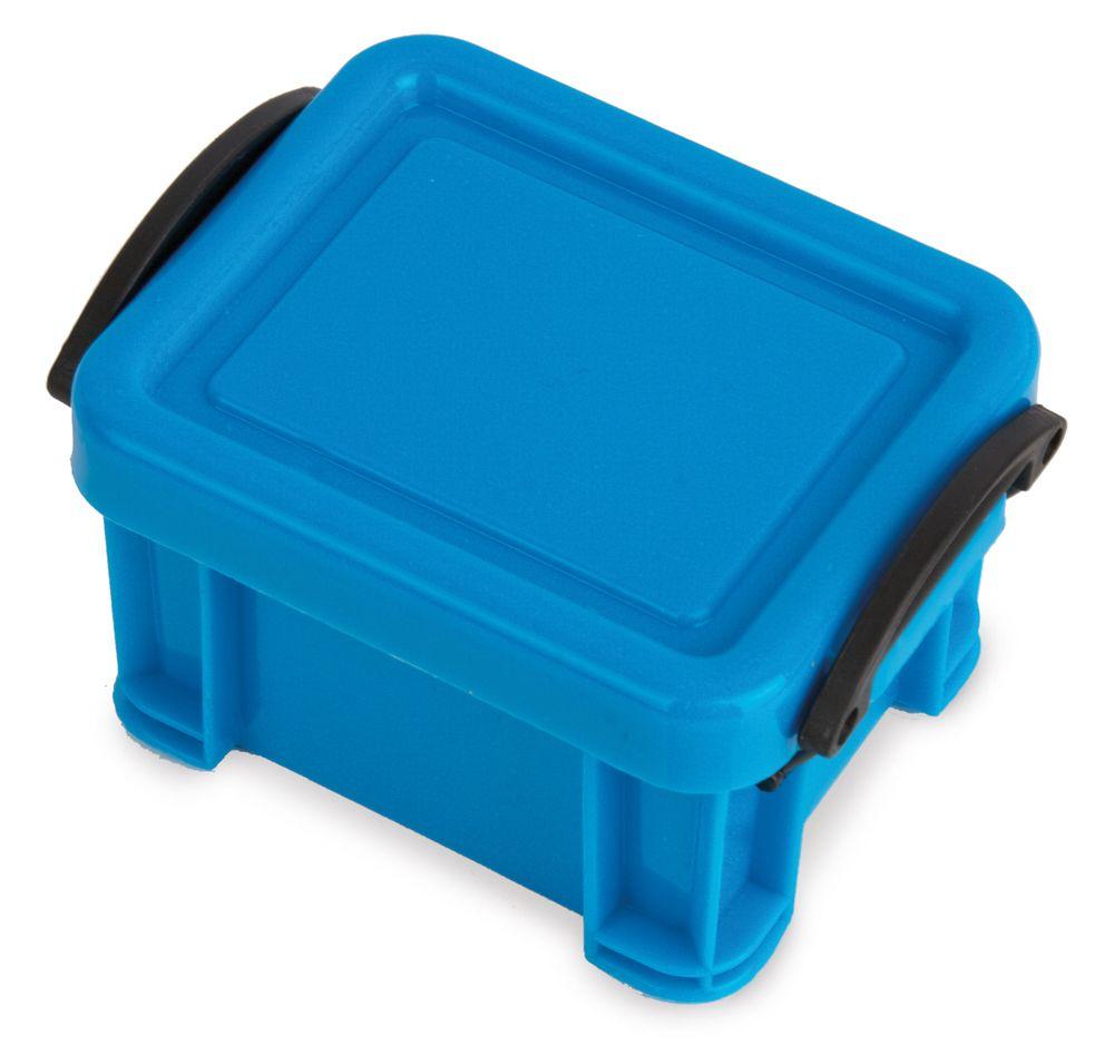 Kontejner na prášky modrý
