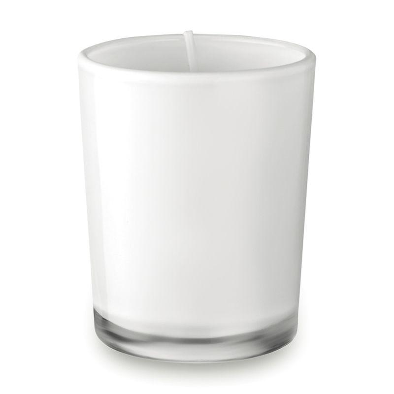 Malá svíčka ve skle