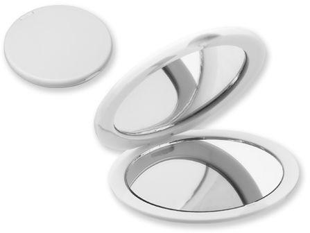 MEIRA plastové kapesní zrcátko, bílá