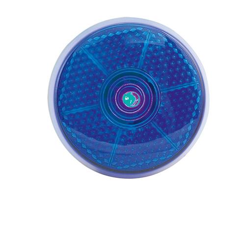 Flash modrá reflexní svítilna s klipem