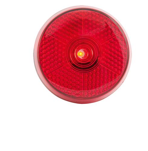 Flash červená reflexní svítilna s klipem