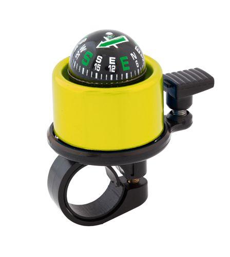 Dantony žlutý zvonek na kolo