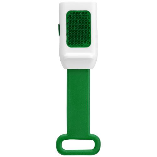 Odrazka a svítilna zelená