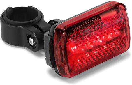 Zadní světlo na kolo červené