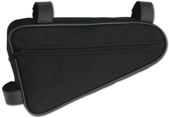 TRIGONE polyesterová cyklistická kapsa na rám, černá