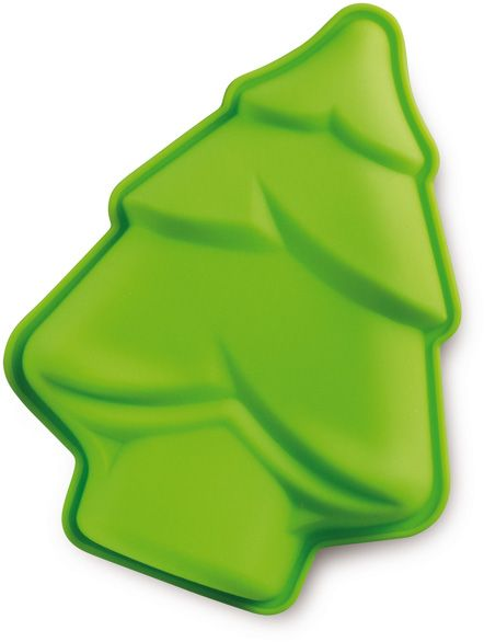 Limetková silikonová forma Stromeček