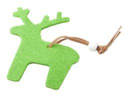 Vánoční figurka, sob s potiskem