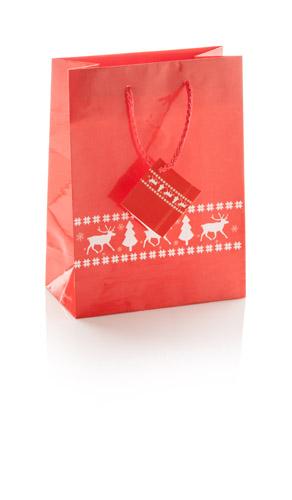 Pilpala W dárková papírová taška na víno