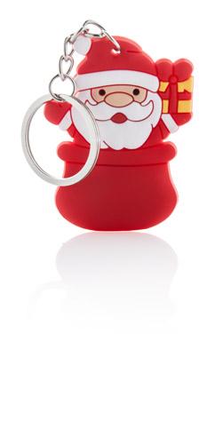 Tridux červená klíčenka se sněhulákem