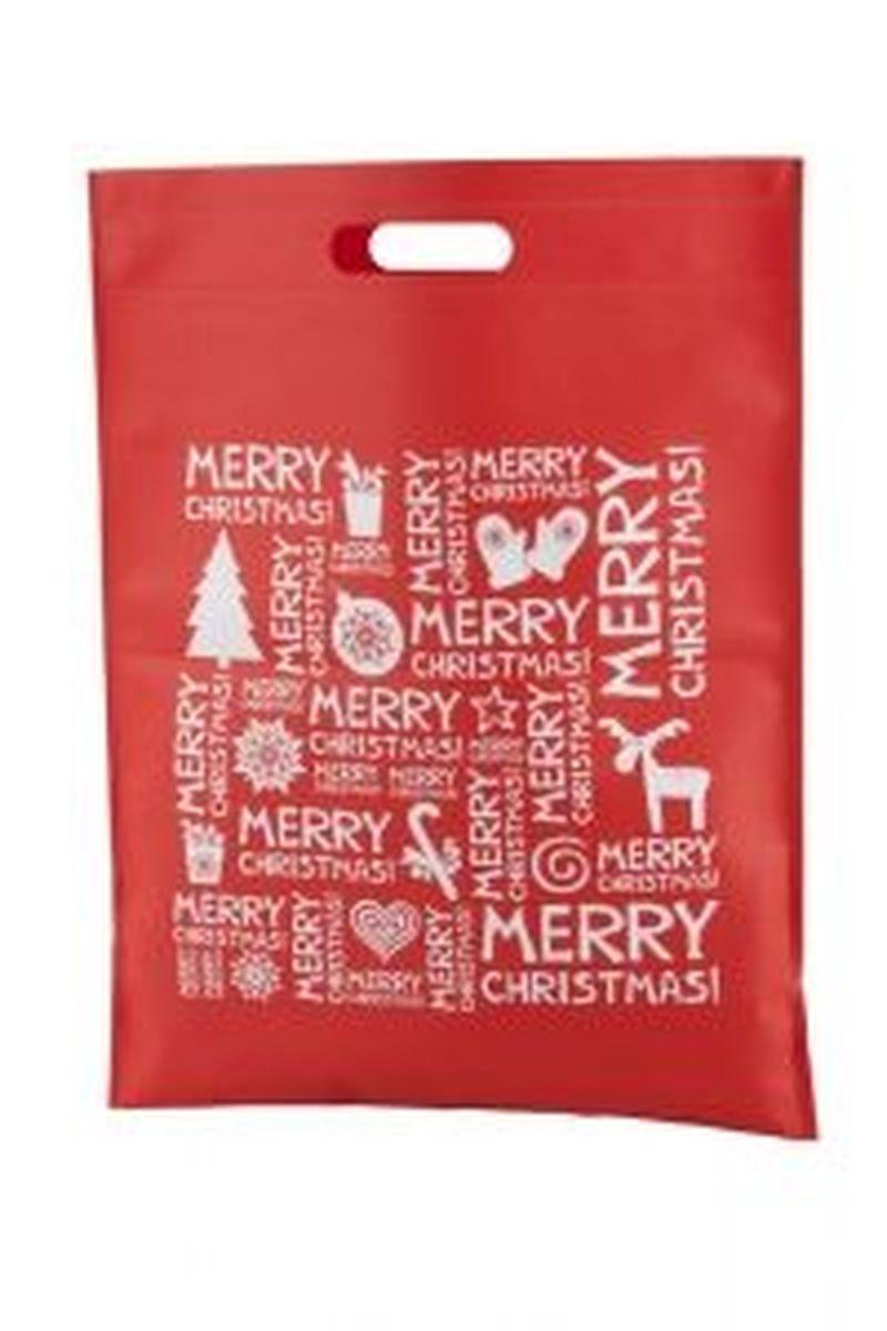 Xugi nákupní červená vánoční taška