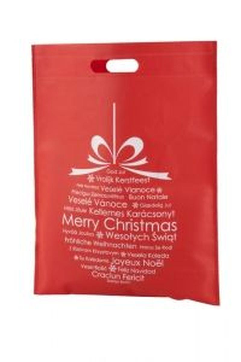 Xagi nákupní červená vánoční taška