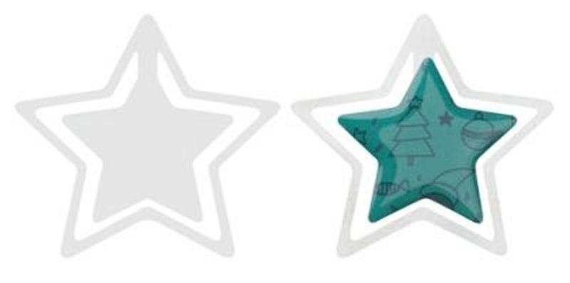 Kiruna záložka, hvězda