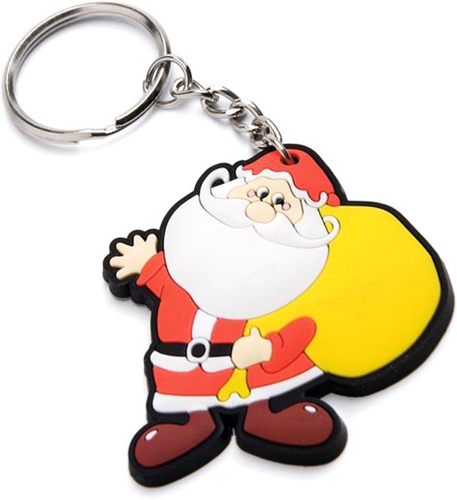přívěšek na klíče Santa