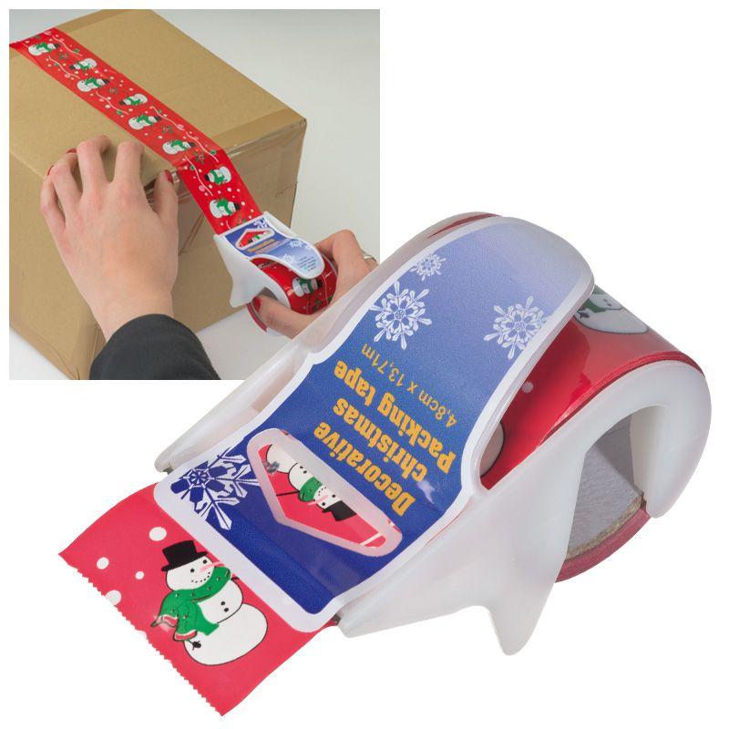 Vánoční dárková lepící páska