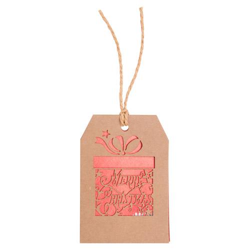 Goslak vánoční kartička