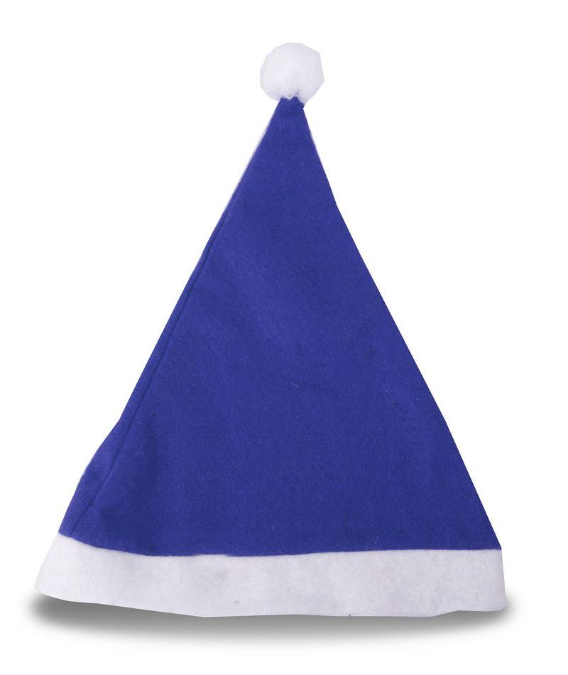 Vánoční čepice modrá