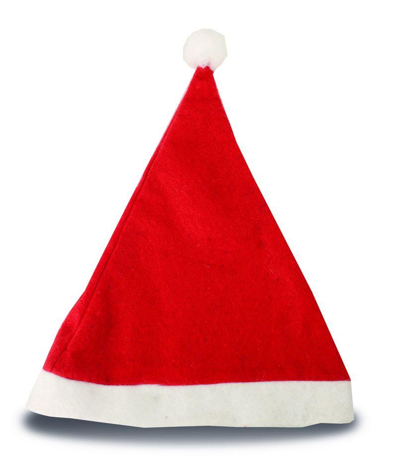 Vánoční čepice červená
