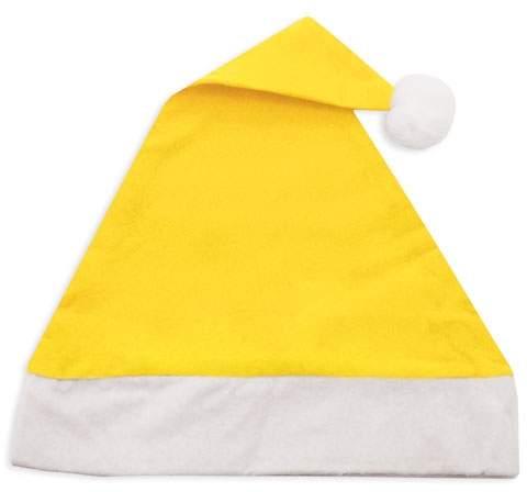 Vánoční čepice, žlutá