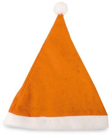 Vánoční čepice, oranžová
