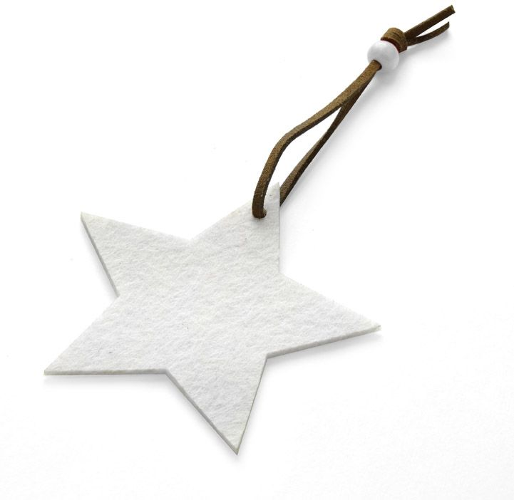 Vánoční ozdoba STAR s potiskem