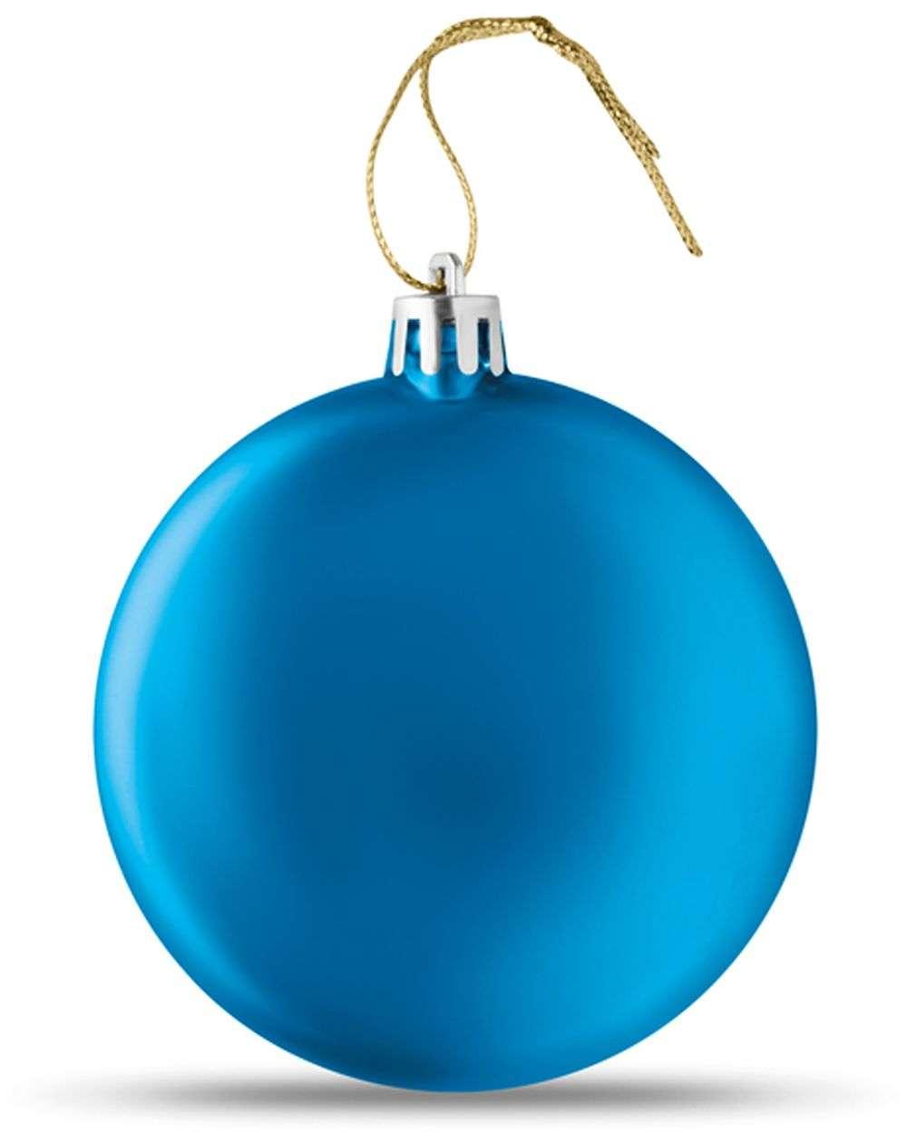 Plochá vánoční koule
