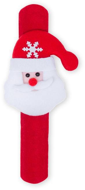 Randal pásek na ruku se Santa Clausem