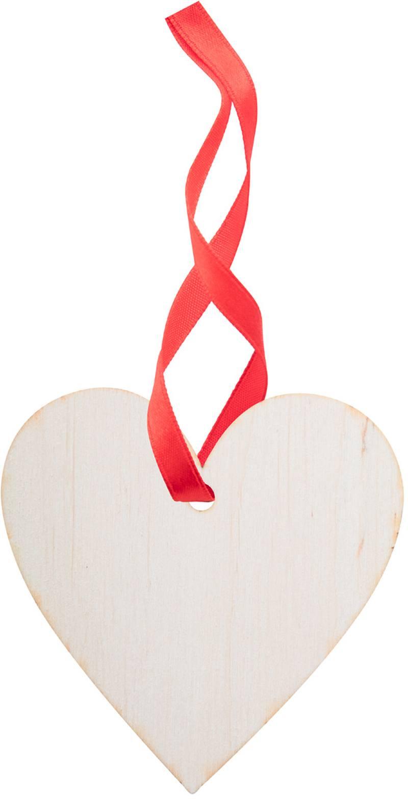 Vánoční ozdoba, srdce WoXmas