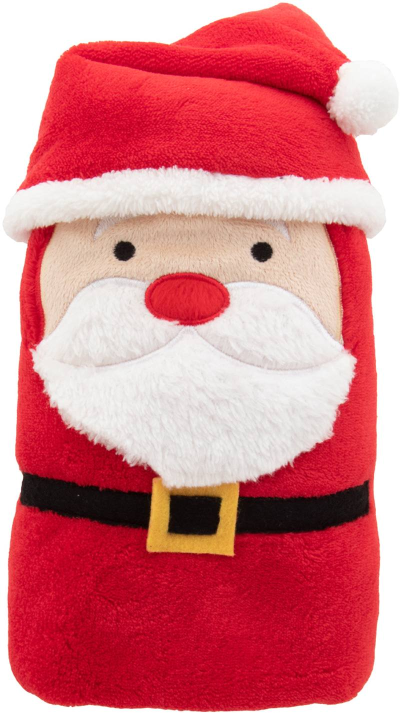 Vánoční fleecová deka se santa clausem Hugger