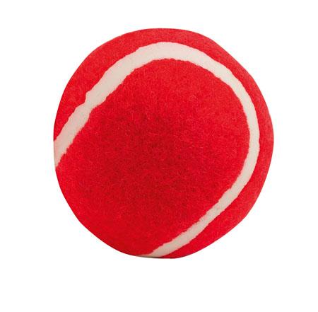 Červený míček pro psy