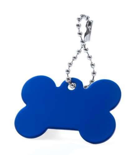 Farrow modrý přívěsek psí známka