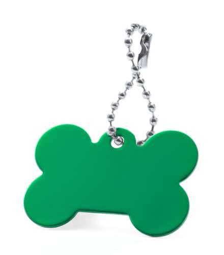 Farrow zelený přívěsek psí známka
