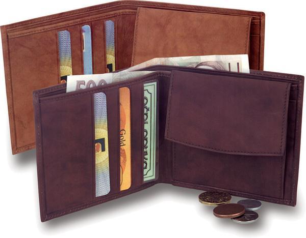 Peněženka na bankovky i mince
