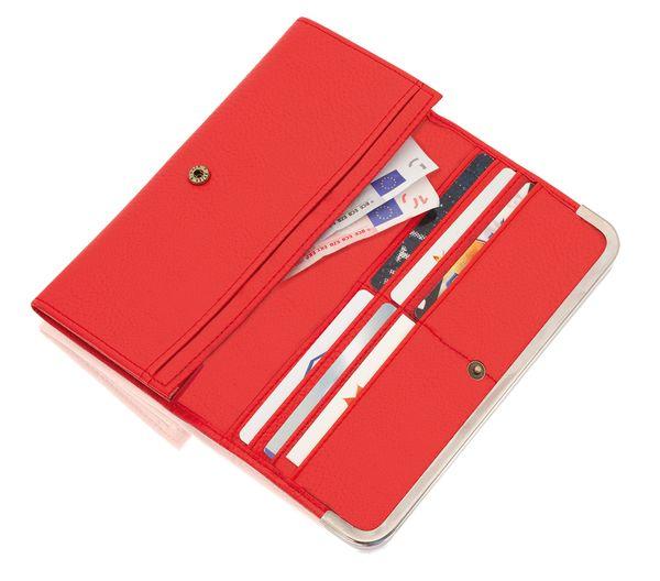 Moore červená dámská peněženka