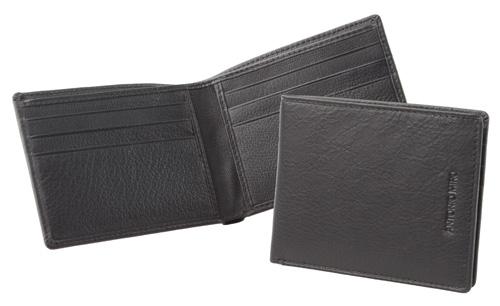 Fagus černá peněženka