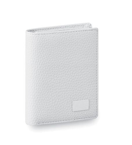 Bílá peněženka z umělé kůže