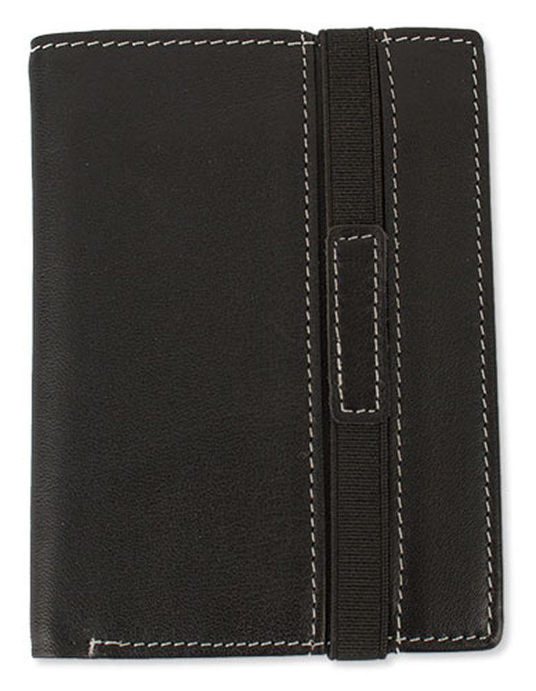 Peněženka na elastické zapínání černá