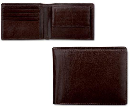 GOLIASH kožená pánská peněženka, hnědá