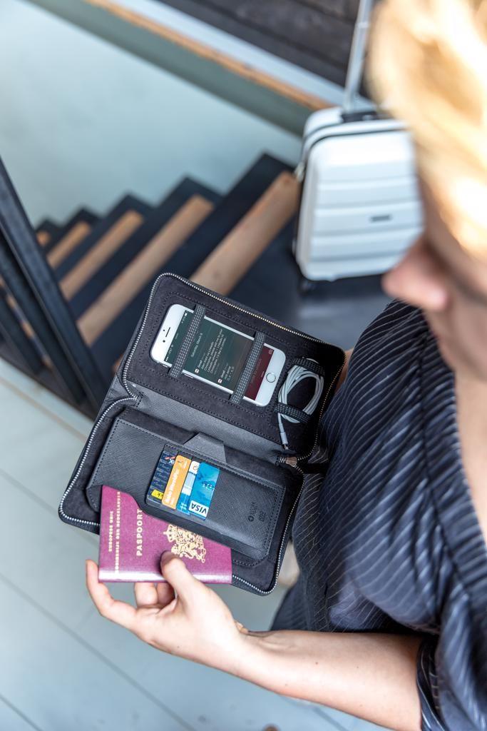 RFID cestovní peněženka Swiss Peak Heritage
