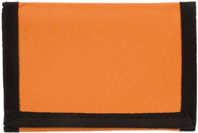 Oranžová peněženka polyester