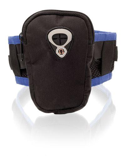 Modrá náramková peněženka