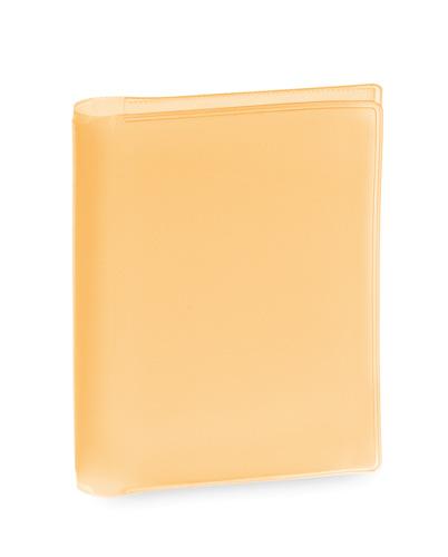 Letrix oranžový obal na kreditní karty