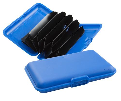 Flapp modrý obal na kreditní karty