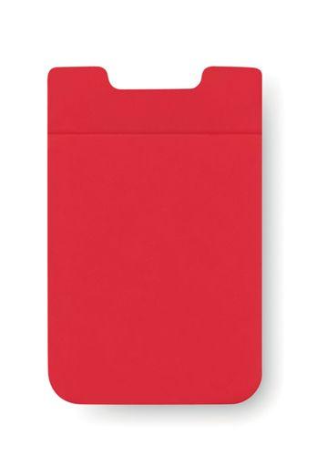 Červený obal na karty