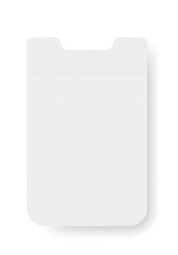 Bílý obal na karty