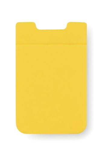 Žlutý obal na karty