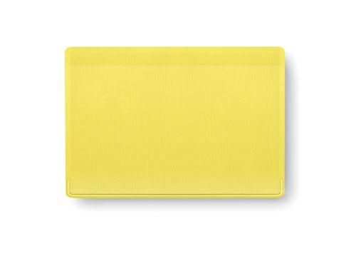 Obal na kreditní karty žlutý