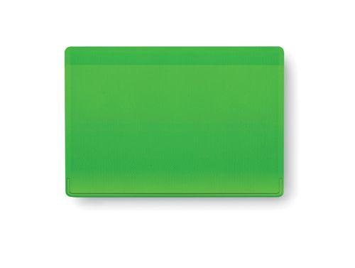Obal na kreditní karty zelený