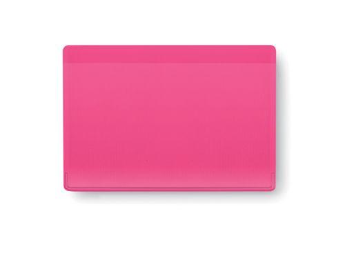 Obal na kreditní karty růžový